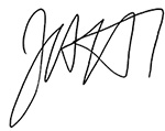 Jeff McDermott signature