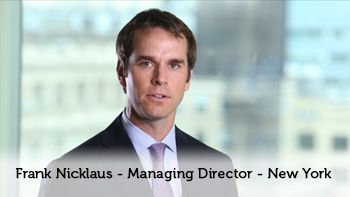 Frank Nicklaus - Managing Director - New York