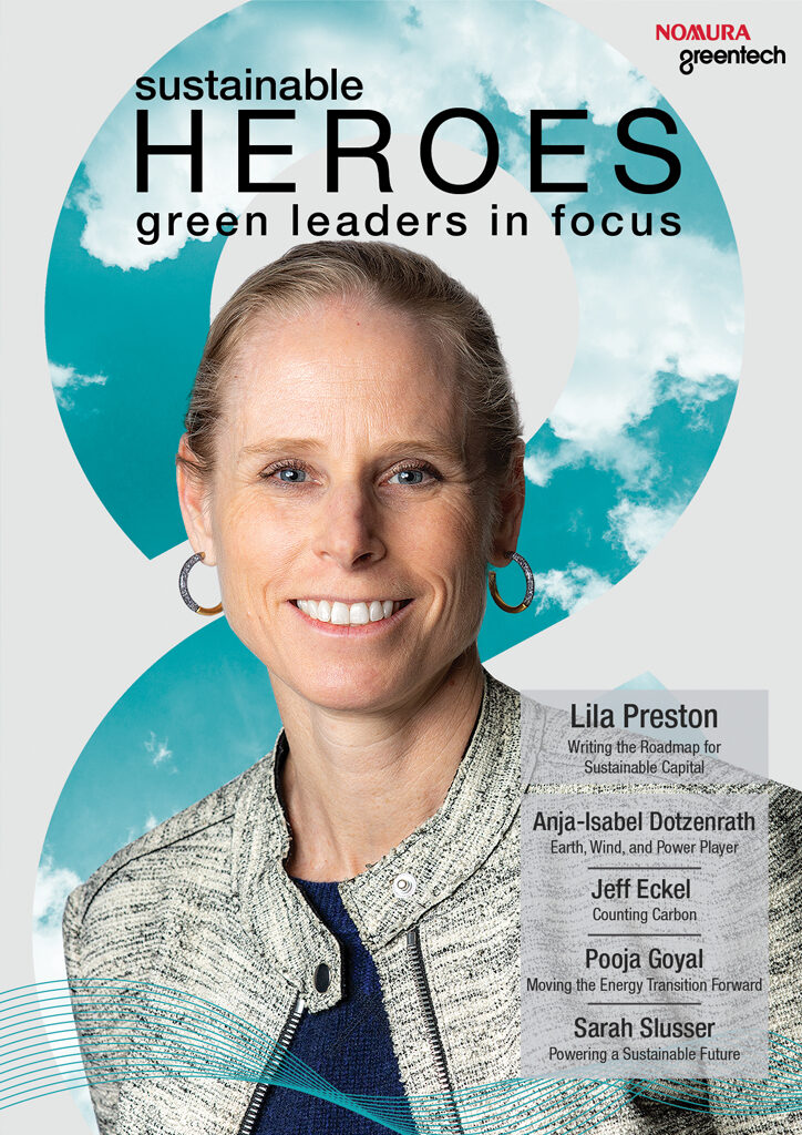 Sustainable Heroes Issue VI Cover, Lila Preston