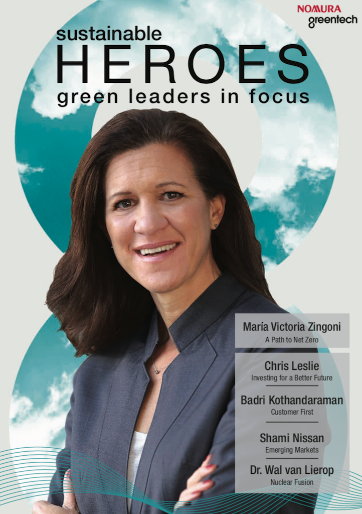 Nomura Greentech Sustainable Heroes Issue VII Cover Image