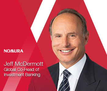 Nomura Appoints Jeff McDermott as Global Co-Head of Investment Banking